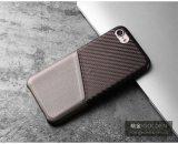 2017 новых тонких случаев телефона PU кожаный с держателем кредитной карточки