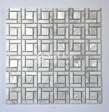 Mosaico de agua dulce del shell y mosaico del mármol