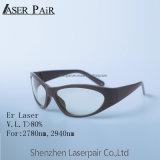 Óculos de proteção profissionais do elevado desempenho com vidros de segurança de Eyewear da forma do O.D 6+ 2780nm/laser