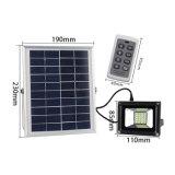 調節可能な明るさ20 LED 10Wのリモート・コントロール太陽洪水ライト