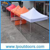 10X10'屋外の六角形の鉄骨フレームの折るテントによってはおおいが現れる
