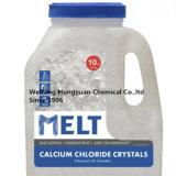 De de vochtvrije Korrel/Bal/Prill van het Chloride van het Calcium voor de Smelting van het Ijs