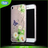 Caja del teléfono celular de la alta calidad TPU con la fábrica Pricefor iPhone7