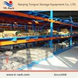 Q235 Rek van het Metaal van de Opslag van het Pakhuis van het Staal het Industriële Op zwaar werk berekende