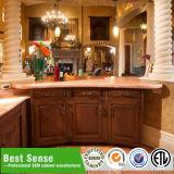 Gabinetes de banheiro gama alta da madeira contínua da grande habilidade