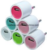 Заряжатель USB дома высокоскоростного заряжателя стены 5V 1A облегченный
