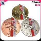 Медали качества 3D Taekwondo металла золота серебряные бронзовые изготовленный на заказ