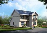 Casa de campo pré-fabricada com Sunroom e a casa verde