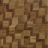 モザイク・パーケットは設計された木製のフロアーリングを模造した