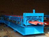 Rodillo de acero de frío de la cubierta de suelo H75 que forma la máquina