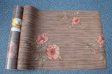 Экологичный самоклеящаяся виниловая пленка ПВХ грациозные самоклеющиеся гостиной цветы обои для украшения дома