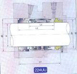 Selo mecânico para a bomba (224uu)