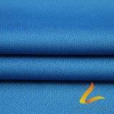 Gestricktes PolyesterSpandex Lycra elastisches Gewebe für Sportkleidung-Eignung (LTT-2025# BLAU)