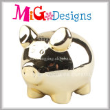 Usage de porc adoreux Ceramic Crafts OEM Welcome Piggy Bank