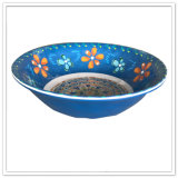 Soem-elegante Entwurfs-blaue Farben-preiswerte Melamin-Umhüllung-Filterglocke