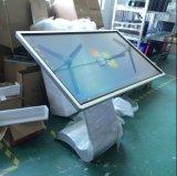 """55 """" 큰 스크린 IR 적외선 접촉 스크린 LCD 인조 인간 대화식 접촉 간이 건축물"""