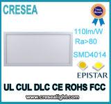 Luz del panel embutida cuadrado delgado de la viruta 595*595m m LED de 36W 40W 45W 48W Epistar