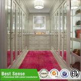L Form-Furnierholz-Furnier-Blattschlafzimmer-Garderoben-Wandschrank