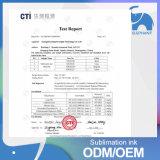 Tinta de impresión de sublimación de tinte de alta calidad para Dx5 / 6/7