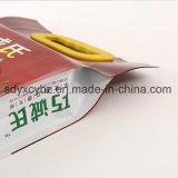 ハンドルの穴が付いている穀物または米またはペットフードのための側面のガセットのポリ袋