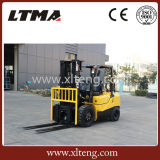 2017 New Style 3 Tons Small LPG / Gas Forklift Truck