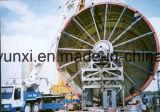 Tanque ou embarcação de FRP que fazem a máquina - tipo horizontal