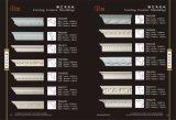 Cornicione dell'unità di elaborazione del poliuretano del materiale da costruzione che modella per la decorazione
