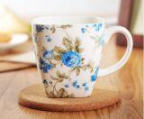 Tazza di caffè di ceramica di promozione 12oz con la maniglia