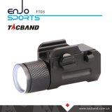 Kompakte taktische Taschenlampe für Pistole oder Pistole, mit hohem Ausschuss CREE LED, Aluminiumkarosserie