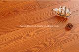 Античной выскобленный рукой настил твердой древесины белой золы от фабрики Foshan