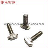 Bullone capo del acciaio al carbonio T con BACCANO quadrato 186 del collo
