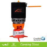 Mini gas di campeggio portatile esterno della stufa di campeggio della stufa di gas
