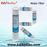 Cartucho de filtro de agua del CTO con el cartucho de filtro plisado de agua
