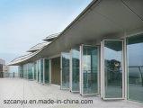 2017熱い販売現代PVC単一のガラス折るWindows