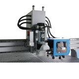 Cuchillo de Osilating y máquina plana del ranurador del CNC del cortador del CNC de la cámara del CCD