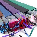투명한 PVC 삼각형 꽃 상자 단 하나 로즈 수송용 포장 상자