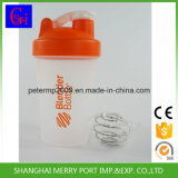 Kundenspezifischer Firmenzeichen-Protein-Schüttel-Apparat BPA geben Schüttel-Apparatflasche mit Stroh frei