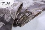 호화스러운 자카드 직물 소파는 중국 제조소에 의하여 100%년 폴리에스테를 덮는다
