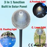 Portable 5W Fancy LED Garden Lampes solaires Lampes légères Home Floating Light