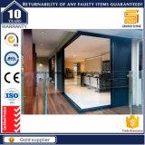 Хорошее качество звука короткого замыкания алюминиевые раздвижные двери салона