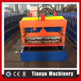 良質はTianyuでなされた機械を形作る屋根瓦ロールを艶をかけた