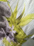 Sommer-Form-Blume gedruckte kurze Hülsen-Shirt-Kleidung