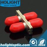 Adattatore ottico duplex della fibra della st con la flangia
