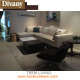 居間か屋外の卸し売り現代ステンレス鋼の長い椅子