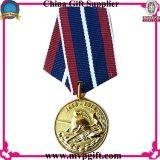 De nieuwe Medaille van de Sport van het Metaal met Gravure van het Embleem van de Klant 3D