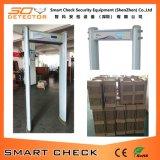 Porte de détecteur de métaux de scanner de garantie de 6 zones