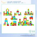 Nuevo juguete educativo de los bloques huecos de madera bloque magnético para Niños