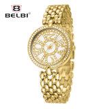 Belbi 새로운 팔찌 시계 숙녀 시계 고급 Ultra-Thin 스테인리스 방수 석영 시계