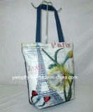 Canvas Handbags Match Cartoon Pattern