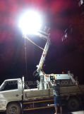 10m油圧マスト5kw力のLEDの照明タワー
